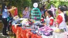 the Charity Bazaar at the Smile House